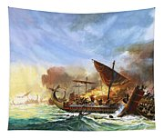 Battle Of Salamis Tapestry