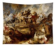 Battle Of The Amazons Tapestry