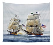 Battle Sail Tapestry
