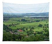 Bavarian Green Valley Tapestry