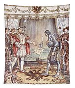Bayard Presented To Henry Viii Tapestry