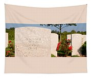 Bayeux British Cemetery Unknown Soldier Tapestry