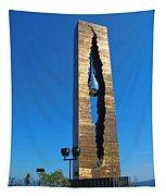 Teardrop  9 - 11 Memorial Bayonne N J Tapestry