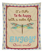 Be Happy Tapestry