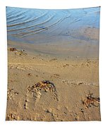 Beach And Rippled Water. Tapestry