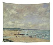 Beach At Trouville Tapestry