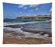 Beach Colors Tapestry
