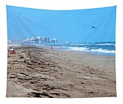 Beach Front 002 Tapestry