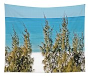 Beach Front View Tapestry