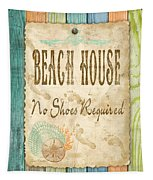 Beach Notes-d Tapestry
