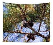 Beach Pine Tapestry