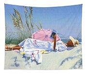 Beach Recliner Tapestry