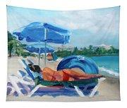 Beach Siesta Tapestry