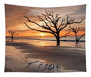 Awakening - Beach Sunrise Tapestry