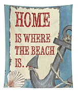 Beach Time 2 Tapestry