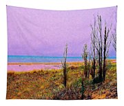 Beach Trees Tapestry