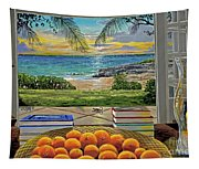 Beach View Tapestry