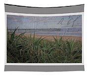 Beach Writing Tapestry