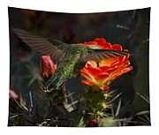 Beak Deep In Nectar  Tapestry