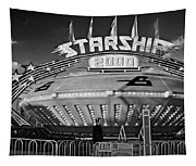 Beam Me Up Scotty Monochrome Tapestry