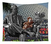 Bear And His Mentors Walt Disney World 04 Tapestry