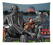 Bear And His Mentors Walt Disney World 05 Tapestry