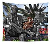 Bear And His Mentors Walt Disney World 06 Tapestry