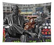 Bear And His Mentors Walt Disney World 07 Tapestry