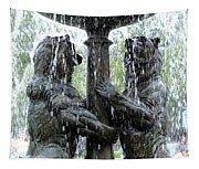 Bear Fountain Tapestry