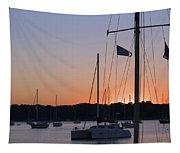 Beaufort Sc Sunset Tapestry