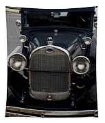Beautiful Classic Car Front View Tapestry