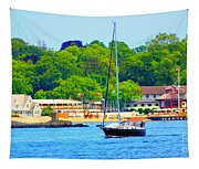 Beautiful Day For Sailing Tapestry