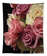 Beautiful Dramatic Roses Tapestry