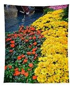 Beautiful Flower Garden Bellagio Las Vegas Tapestry