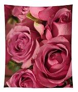Beautiful Pink Roses 6 Tapestry
