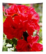 Beautiful Red Roses Tapestry