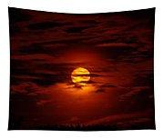Beauty Of The Sun And Clouds Tapestry