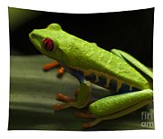 Beauty Of Tree Frogs Costa Rica 2 Tapestry