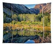Beaver Lake Sierra Nevada Mountains Tapestry