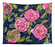 Bed Of Roses Tapestry