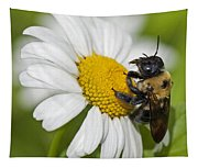 Bee And Daisy Tapestry