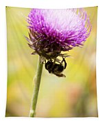 Bee And Thistle Tapestry