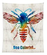 Bee Colorful - Art By Sharon Cummings Tapestry