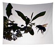 Bee In Flight  Tapestry