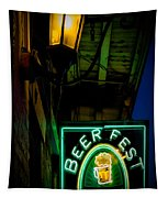 Beer Fest And Lamp Tapestry
