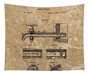 Beer Tap Patent Tapestry
