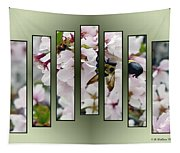 Bees And Blossoms Tapestry
