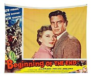Beginning Of The End 1957 Tapestry