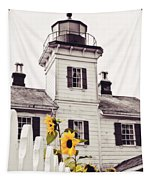Behind The Lighthouse  Tapestry