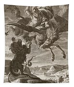 Bellerophon Fights The Chimaera, 1731 Tapestry